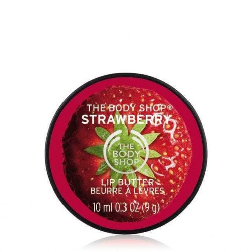 Баттер для губ The Body Shop Strawberry Lip Butter