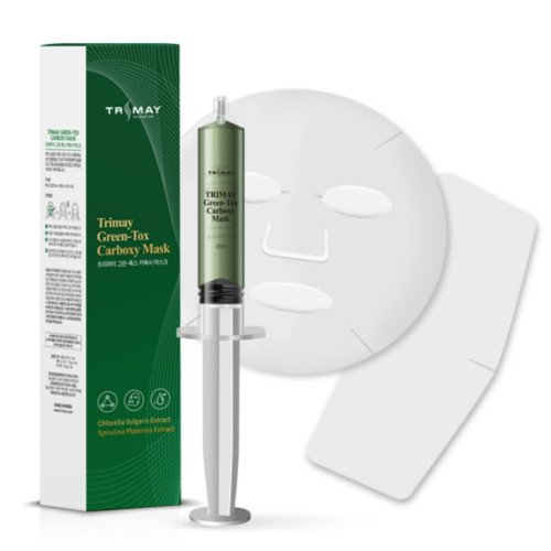 Детокс-маска для карбоксітерапіі Trimay Green-Tox Carboxy Mask