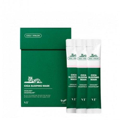 Ночная маска для чувствительной и проблемной кожи VT Cosmetics Cica Sleeping Mask