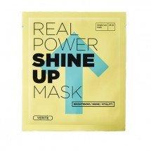 Тканевая маска улучшающая тон лица Verite Real Power Shine Up Mask