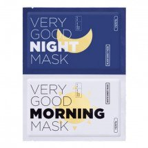 Набор листовых масок Verite Very Good Morning - Very Good Night Mask