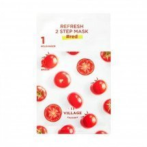 Двухшаговый набор с маской Village 11 Factory Refresh 2 Step Mask Red