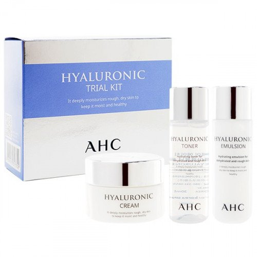 Набор миниатюр увлажняющей серии AHC Hyaluronic Trial Kit