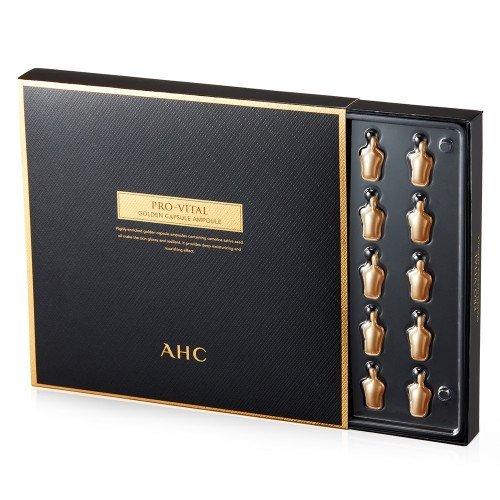 Антивозрастная капсульная сыворотка AHC Pro Vital Golden Capsule Ampoule