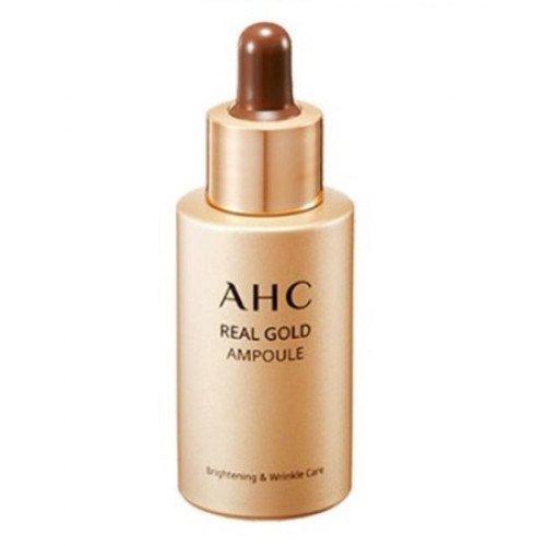 Відновлювальна антивікова сироватка з екстрактом гарбуза та колоїдним золотом A.H.C Real Gold Ampoule, 30 мл