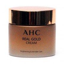 Антивозрастной крем на основе коллоидного золота AHC Real Gold Cream