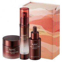 Увляжняющий омолаживающий набор AHC Real Nourishing Special Care Cosmetic Set