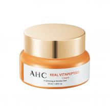 Осветляющий антивозрастной крем с пептидами AHC Real Vita Peptide Cream