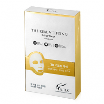 Лифтинг-маска для контура лица AHC The Real V Lifting 2 Step Mask