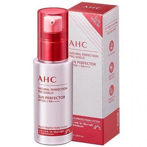 Сонцезахисна сироватка AHC Natural Perfection Pro Shield Sun Perfector SPF50 + PA ++++