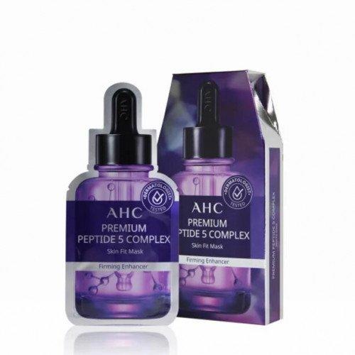 Интенсивно увлажняющая тканевая маска AHC Premium Peptide 5 Complex Skin Fit Mask