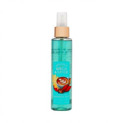 Міст для тіла Bath &Body Works Whipped Vanilla &Spice Illuminating Fragrance Mist