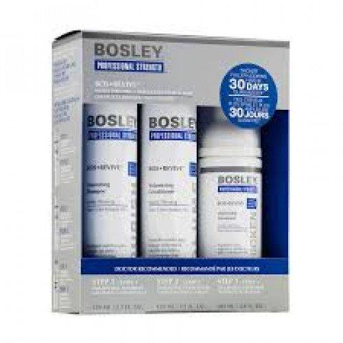 Набор для истонченных неокрашенных волос Bosley Bos Revive Starter Pack for Visibly Thinning Non Color-Treated Hair