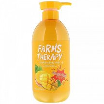Гель для душа Doori Cosmetics Farms Therapy Sparkling Body Wash for Liveliness and Nutrition Mango