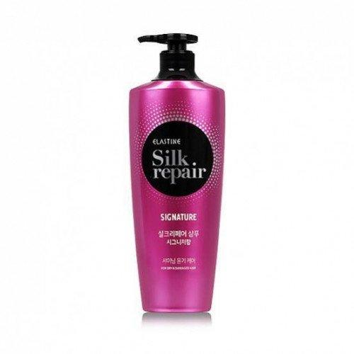 Восстанавливающий шампунь с протеинами шелка Elastine Silk Repair Signature Shampoo