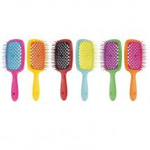Гребінець Janeke Hairbrush With Soft Moulded Tips