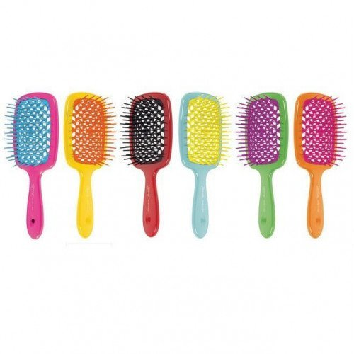 Гребінець Janeke Small Superbrush With Soft Moulded Tips