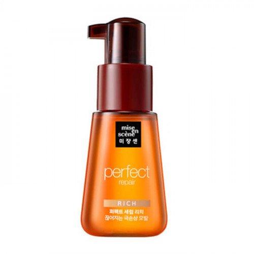 Восстанавливающая сыворотка-масло для сухих волос Mise en Scene Perfect Serum Rich