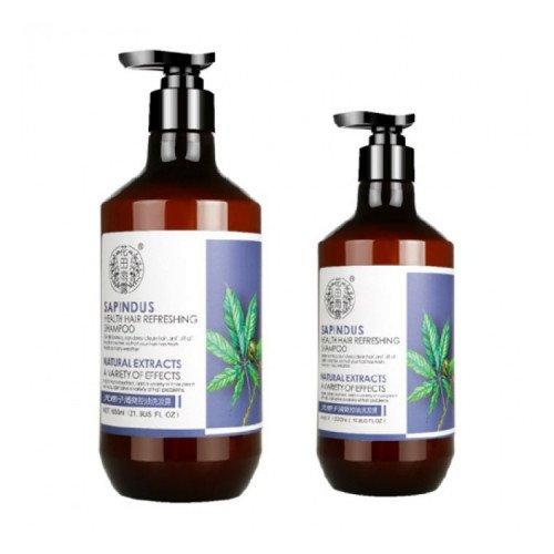 Шампунь для чувствительной кожи головы на основе мыльного дерева Moran Sapindus Shampoo, 320 мл