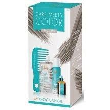 Набор Moroccanoil Color Meets Care Platinum