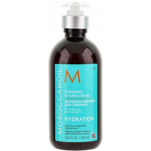 Зволожуючий крем для укладання волосся Moroccanoil Hydrating Styling Cream, 300 мл