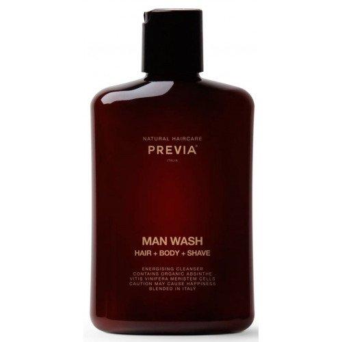 Универсальное средство для мужчин Previa Man Wash Hair Body Shave