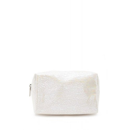 Косметичка Forever21 Crackled Iridescent Makeup Bag