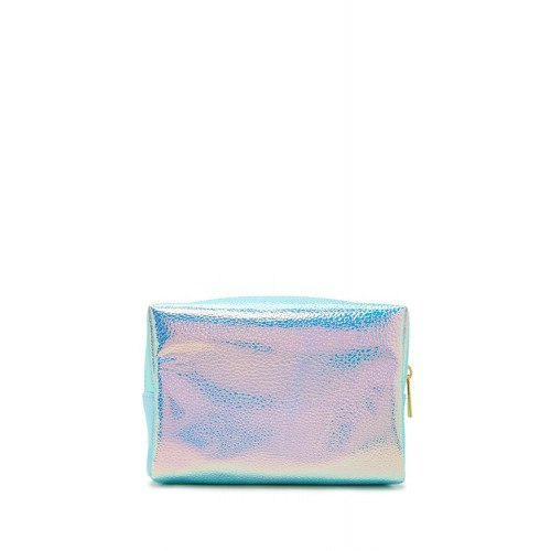 Косметичка Forever21 Holographic Makeup Bag Pink Green