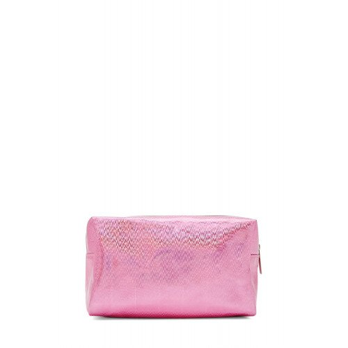 Косметичка Forever21 Featurihg a sheeny iridescent finish Makeup Bag