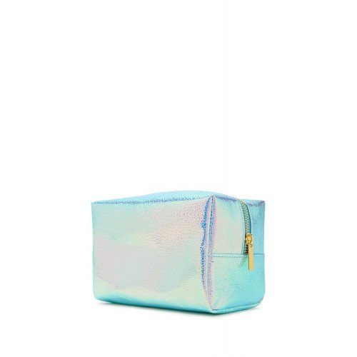 Косметичка Forever21 Holographic Makeup Bag Lavender Multi