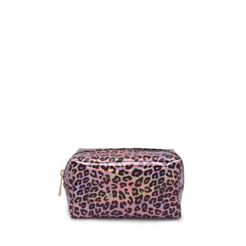 Косметичка Forever21 Аllover Leopard Print Makeup Bag