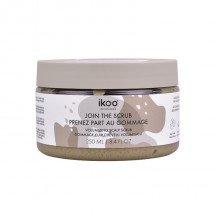 Сахарный скраб - пенка «Глубокое очищение и объем» Ikoo Volumizing Scalp Scrub