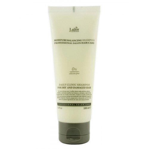 Зволожуючий шампунь для волосся La'dor Moisture Balancing Shampoo, 100мл