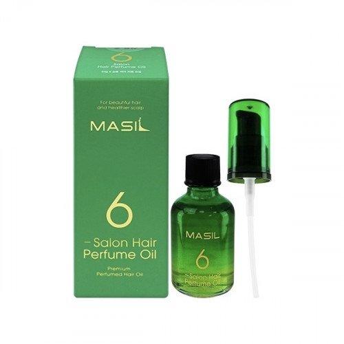 Зволожуюча парфумована олiя для волосся Masil 6 Salon Hair Perfume Oil