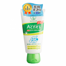 Мягкий скраб c BHA кислотами Mentholatum Acnes Medicated Scrub
