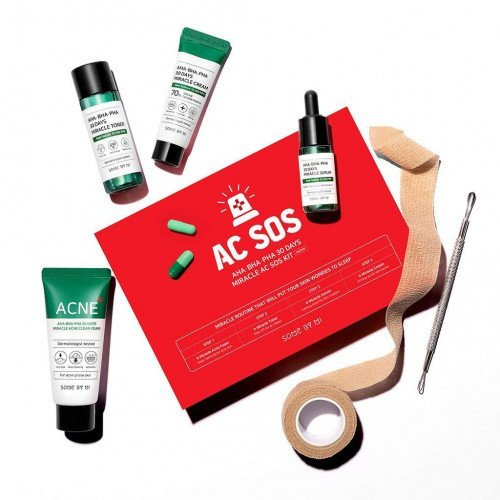 Набор миниатюр Some By Mi AHA-BHA-PHA 30 Days Miracle AC SOS Kit