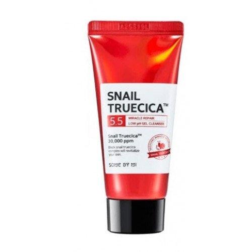 Гель для умывания Some By Mi Snail Truecica Miracle Repair Low pH Gel Cleanser Mini, 30 мл
