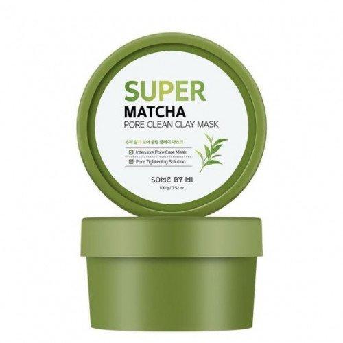 Очищающая глиняная маска с чаем матча Some By Mi Super Matcha Pore Clean Clay Mask