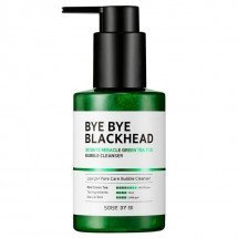 Маска-пенка от чёрных точек Some By Mi Bye Bye Blackhead 30 Days Miracle Green TeaTox Bubble Cleanser
