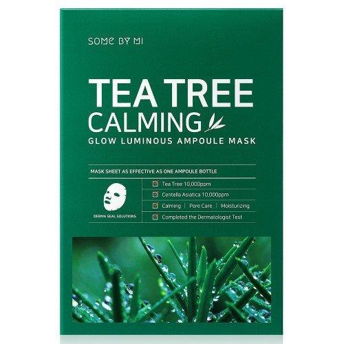 Заспокійлива маска з чайним деревом Some By Mi Glow Luminous Ampoule Mask Tea Tree