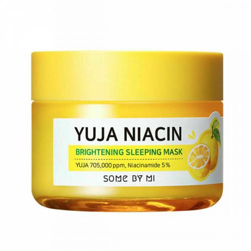 Ночная маска Some By Mi Yuja Niacin 30 Days Miracle Brightening Sleeping Mask