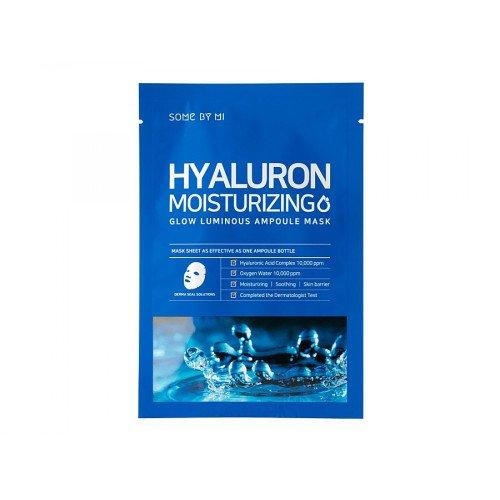 Зволожуюча маска для обличчя з гіалуроновою кислотою Some By Mi Hyaluron Moisturizing Glow Luminous Ampoule Mask