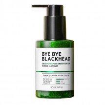 Маска-пенка от чёрных точек Some By Mi Bye Bye Blackhead 30 Days Miracle Green TeaTox Bubble Cleanser