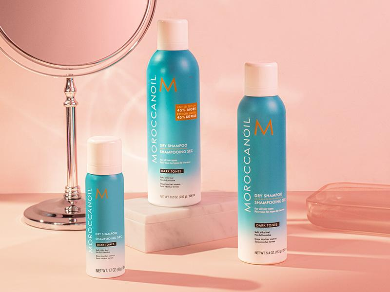 Сухой шампунь для темных волос Moroccanoil Limited Edition Jumbo Dry Shampoo  Dark Tones regbnm - MIMISHOP